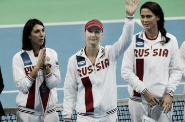 Ekaterina Makarova powered Russia to the victory | Photo: Fed Cup/Andrei Golovanov