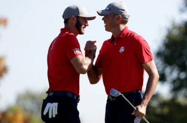 Team USA are in buoyant mood (photo: The Guardian)