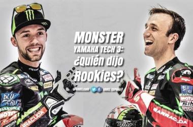 Monster Yamaha Tech3, ¿quién dijo Rookies?