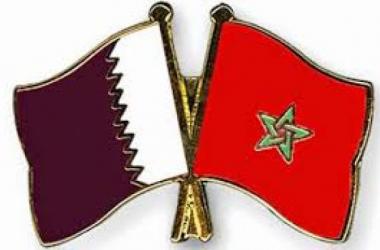 العلمين المغربي و القطري