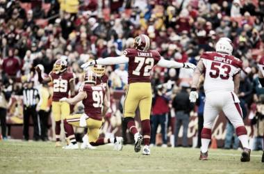 La defensa de los Washington Redskins hace olvidar a Arizona Cardinals los Playoffs | Foto: Redskins.com