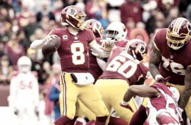 Kirk Cousins contra Arizona semana 15 NFL | Foto Washington Redskins