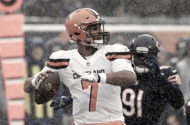 DeShone Kizer en su derrota #14 de la temporada | Foto Cleveland Browns