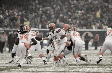 Cleveland Browns contra Chicago Beras   Foto Cleveland Browns