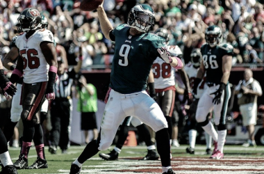 Nick Foles con Philadelphia | Foto Philadelphia Eagles