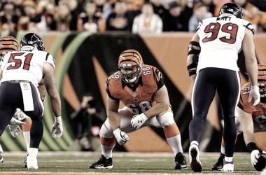 Kevin Zeitler con Cincinnati | Foto Cleveland Browns