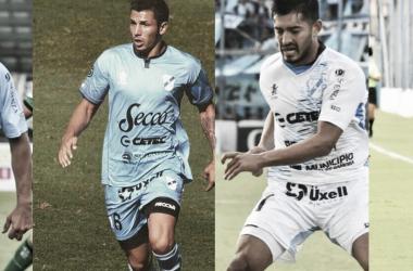 Roberto Brum, Cristian Paz, Sebastián Prieto y Nicolás Demartini. Foto: VAVEL