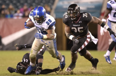Memphis Tigers - Temple Owls  Score (12-31)
