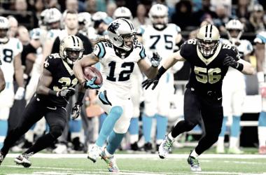 Carolina Panthers contra New Orleans Semana 13 NFL | Foto New Orleans Saints