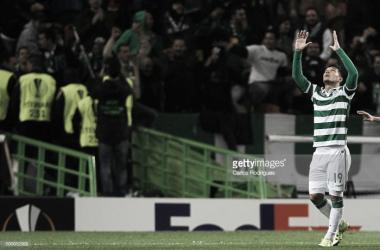 Teo Gutierrez atravessa uma fase negativa no Sporting
