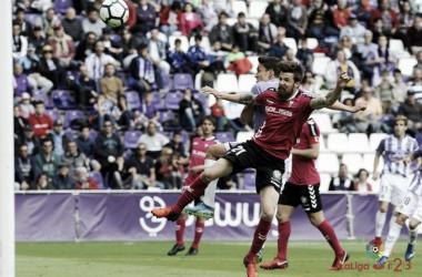 Momento del tercer gol del Valladolid | LaLiga 1|2|3