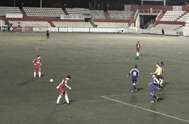 El Terrassa FC no pasó del empate 0-0 frente al Reus B | Foto: Daniel Alcaraz