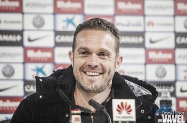 """Luis Tevenet: """"Si solo miramos el resultado es injusto. Hemos jugado muy bien y con mucho esfuerzo"""""""