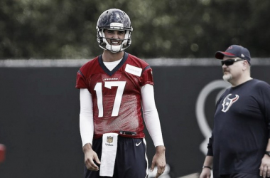 Osweiler in training Photo: SI.com - Aaron M. Sprecher via AP