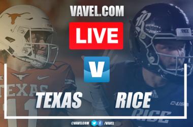 Texas Longhorns vs Rice Owls: LIVE Stream Online TV and Score Updates (48-13)