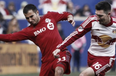 Result and Scores of New York Red Bulls 1-2 Toronto FC in the Audi 2017 MLS Cup Playoffs