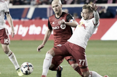 Result and Scores of Toronto FC 0-1 New York Red Bulls in Audi 2017 MLS Cup Playoffs