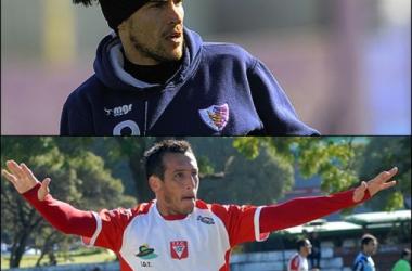 Los experimentados: Aldo Díaz convirtió en su ciudad natal, y Alexander Medina volvió al gol.