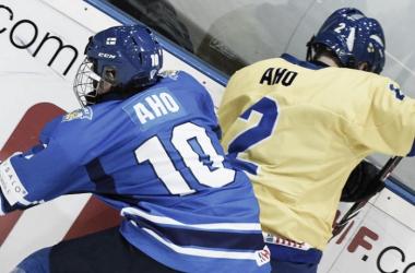Aho vs Aho | IIHF.com