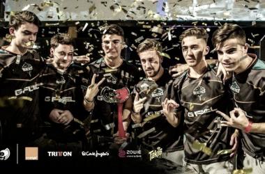 Heretics ganando la Final Cup 11 | Foto: LVP