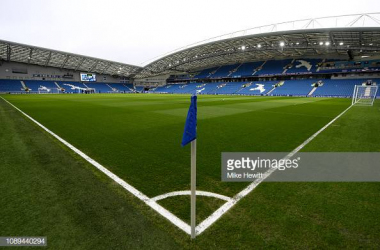 The American Express stadium where both Brighton new signings will hoping to play on next season, images courtesy of Mike Hewitt on Getty Images.