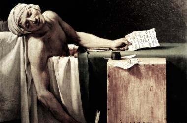 La muerte de Marat. David / Fuente: Public Domain