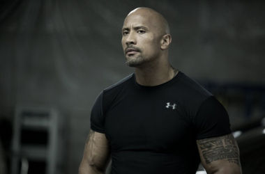 Is The Rock going to delivering a Rock Bottom on the set of Fast 8? (image: collider.com)