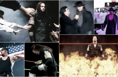 The Undertaker has had a legendary career in WWE and become on of the single most dominating figures in professional wrestling (image(s): wwe)