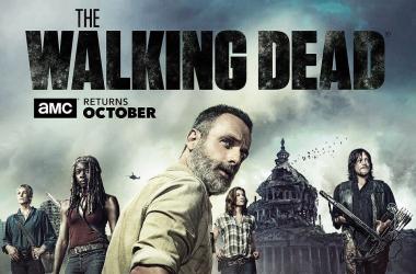 Afiche novena temporada de The Walking Dead - Fotografía de Reddit