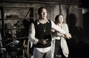Patrick Wilson y Vera Farmiga en un fotograma de 'The Conjuring'. (Foto (sin efecto): collider).