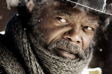 Samuel L. Jackson protagoniza 'The Hateful Eight'. Foto (sin efecto): The Huffington Post.