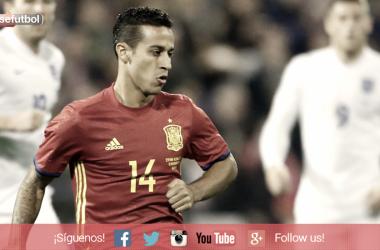 Thiago con la Selección. / FOTO: SEFútbol