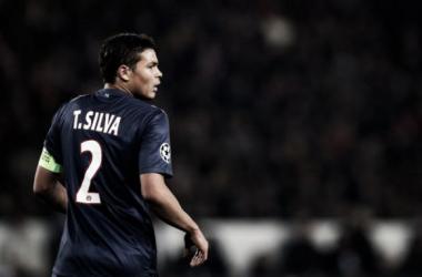 Com gol contra de Thiago Silva, PSG e Monaco empatam no Louis II pela Ligue 1