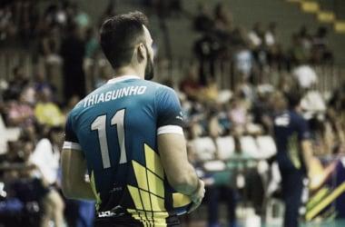 Thiaguinho é o capitão do Sesc-RJ (Foto: Reprodução/Facebook)
