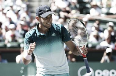 Dominic Thiem se proclamó campeón en Indian Wells. Foto: BNP Paribas Open.