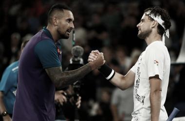 Thiem consegue impressionante virada contra Kyrgios no Australian Open