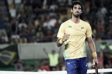 Número um do Brasil, Thomaz Bellucci vence Cuevas vai às oitavas na Rio 2016
