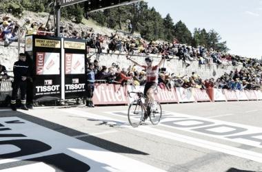Thomas de Gendt celebrando su triunfo | Foto: Tour de Francia