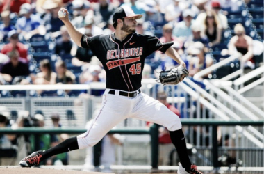 Thomas Hatch out-duels Shane Bieber in College World Series opener; Oklahoma State Cowboys top UC Santa Barbara Gauchos 1-0
