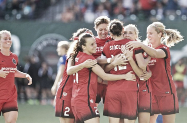 With a roster full of talent, the Portland Thorns came out and earned their most impressive season on club record. (Source: Portland Thorns FC)
