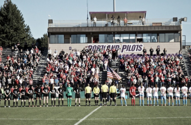 The Portland Thorns and Chicago Red Stars met for their first matches of the 2018 Thorns Spring Invitational on Sunday. | Photo: @ThornsFC