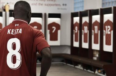 Naby Keita será el encargado de llevar el '8' de Steven Gerrard