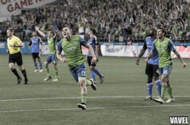 Jordan Morris scored Seattle's second goal in the win | Photo: Brandon Farris/VAVEL USA