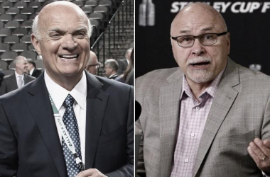 Lamoriello y Trotz (New York Post)