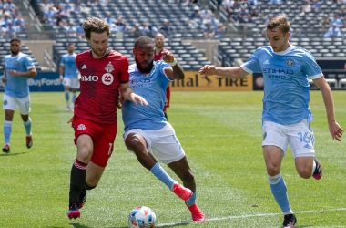 NYCFC 1-1 Toronto: Boys In Blue, Reds play out controversial draw