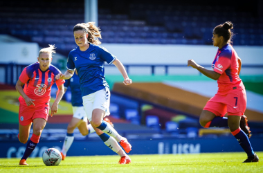 """""""I have never been happier in football than I am right now"""" - Danish international Nicoline Sörensen reflects on joining Everton FC"""
