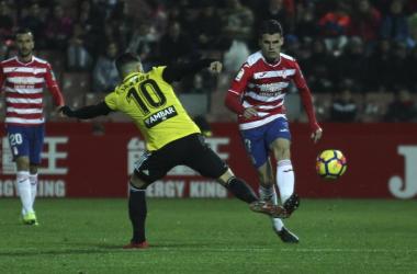 Granada CF – Real Zaragoza: puntuaciones del Granada CF, jornada 23 de La Liga 123