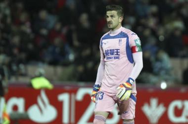 Granada CF – CD Tenerife: puntuaciones del Granada CF, jornada 25