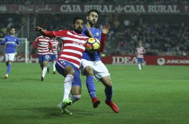 Menosse jugó su último encuentro ante el Almería. Foto: Antonio L Juárez