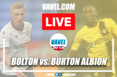 As it happened: Bolton Wanderers 0-0 Burton Albion in League One